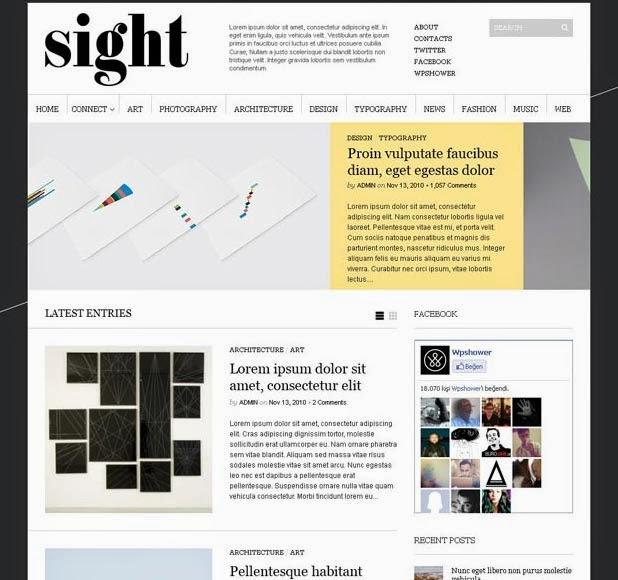 Sight Free WordPress Theme