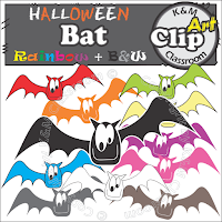 Halloween Bat Clip Art