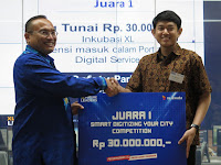 XL Gelar Smart Digitizing Your City Competition 2016