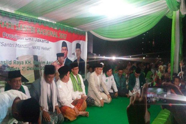Hadiri Kirab Hari Santri, Anies: Kami Bersama Santri Akan Majukan Jakarta