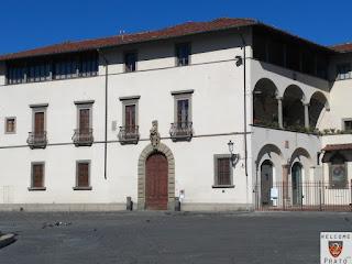 Palazzo - Vescovile - Prato - Facciata