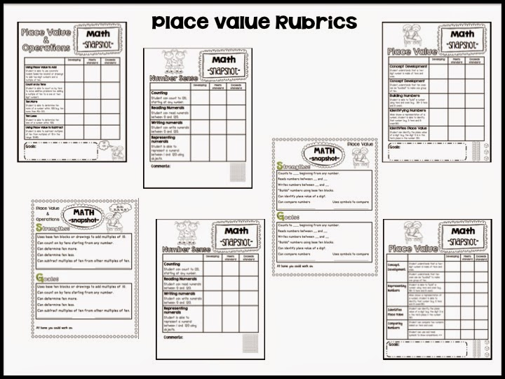 Sarah's First Grade Snippets: Conference Forms and Rubrics