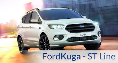 2017 Ford Kuga facelift image