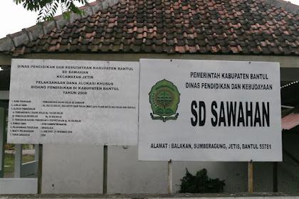 Profil Perpustakaan Sekolah SD NEGERI SAWAHAN JETIS, Desa SUMBERAGUNG, Bantul Yogyakarta
