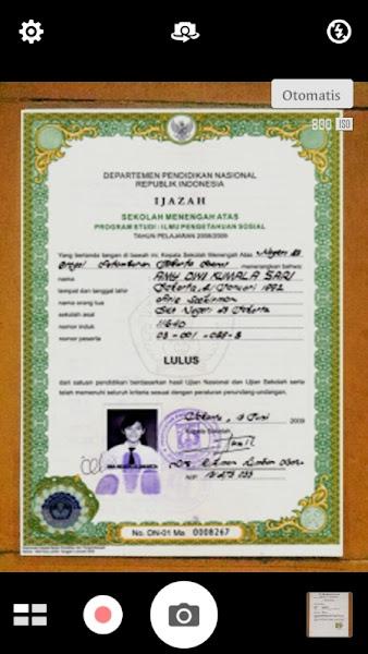 Foto dokumen Cara Membuat Lamaran Kerja di Hp Android Tanpa Scan Ijazah .dll