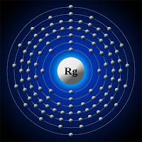 Röntgenyum atomu ve elektronları
