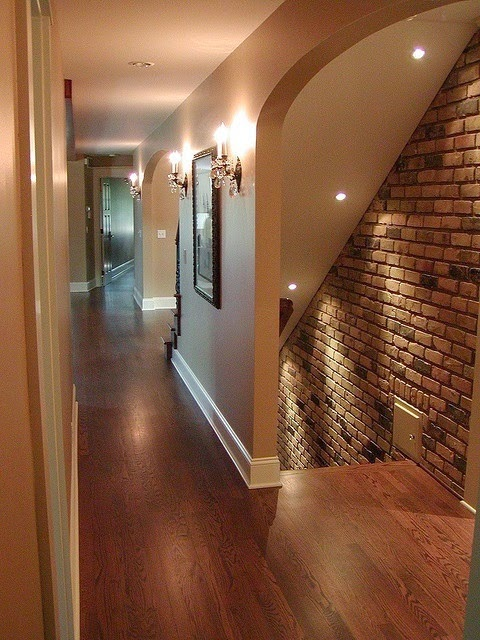 Basement Stairs Design: Stair Lighting : Smart Ideas , Step Lights Tips And