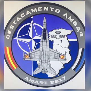 Misión de Policía Aérea del Báltico, comienza el despliegue hacia Estonia