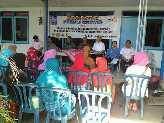 Pembukaan dan Penyuluhan Kesehatan di Balai Kesehatan Aisyaiah - Ambulu