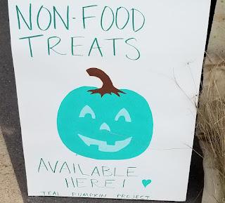 refabulous teal pumpkin project