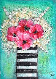http://www.nikainwonderland.com/2015/10/27/mixed-media-flowers-tutorial/