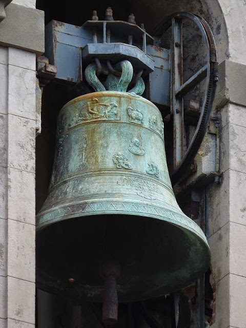 Bell, church of the Most Holy Trinity, Borgo dei Cappuccini, Livorno