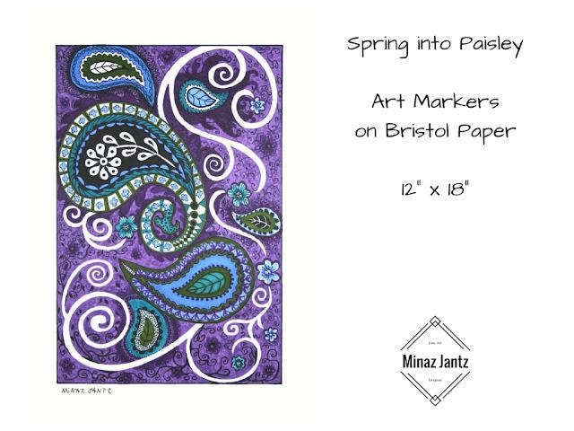 Spring into Paisley by Minaz Jantz