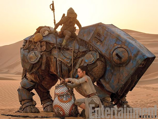 "New ""Star Wars: The Force Awakens"" Photos from EW.com"