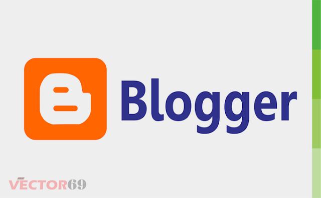 Logo Blogger - Download Vector File CDR (CorelDraw) X4