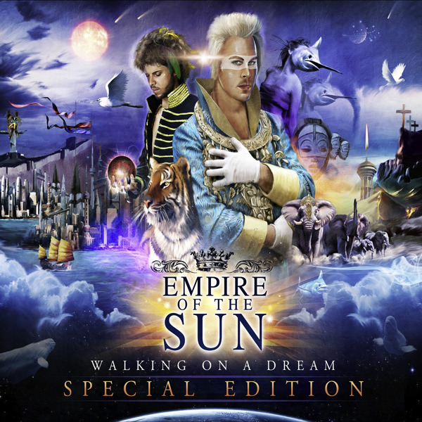 Empire of the Sun - Walking On a Dream - Single Cover