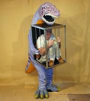 Disfraz divertido Dinosaurio y humano