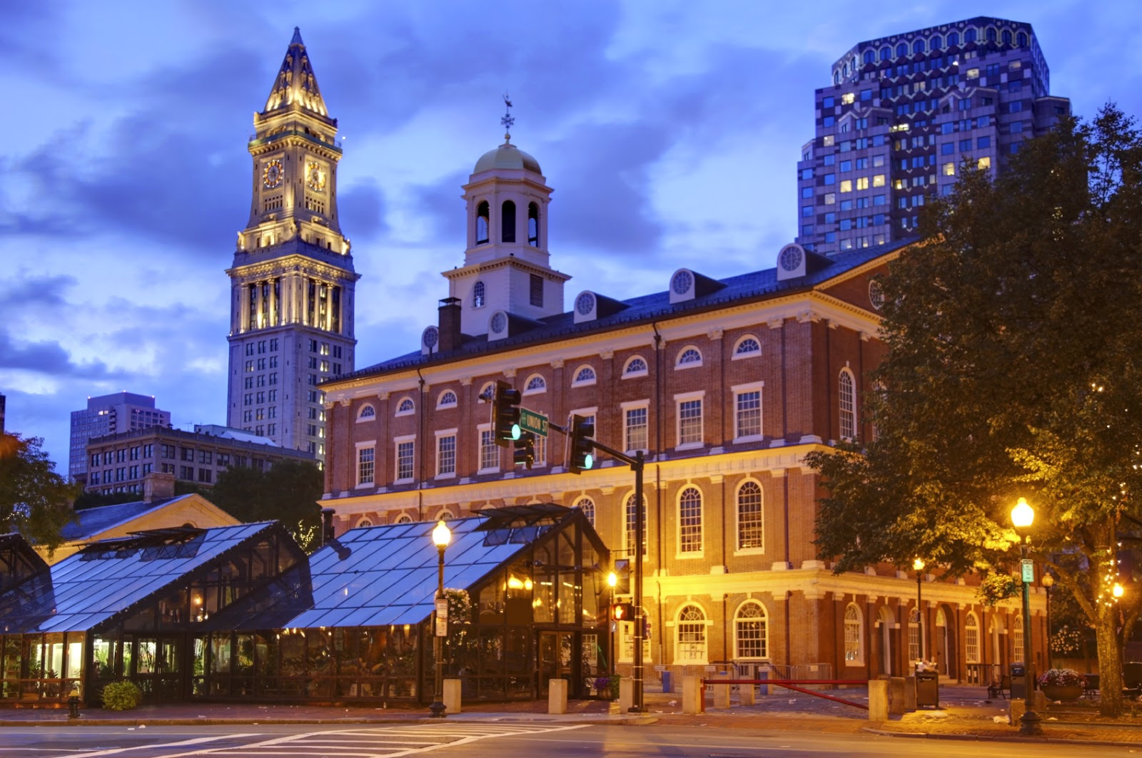 Faneuil Hall Marketplace (Boston, Massachusetts)
