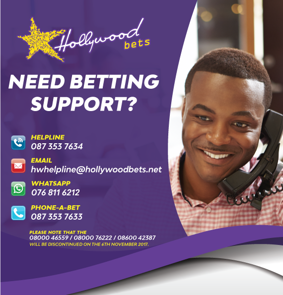 Betting Support Contact Numbers - Hollywoodbets - Whatsapp - Call Centre - Helpline - Email