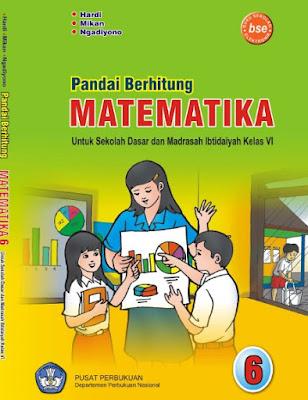 Buku Matematika Kelas 6 SD/MI Karya Hardi, Mikan, dan Ngadiyono