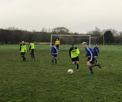 Football picture one - Barnetby United Reserves v Crosby Colts Reserves - December 1, 2018 used on Nigel Fisher's Brigg Blog