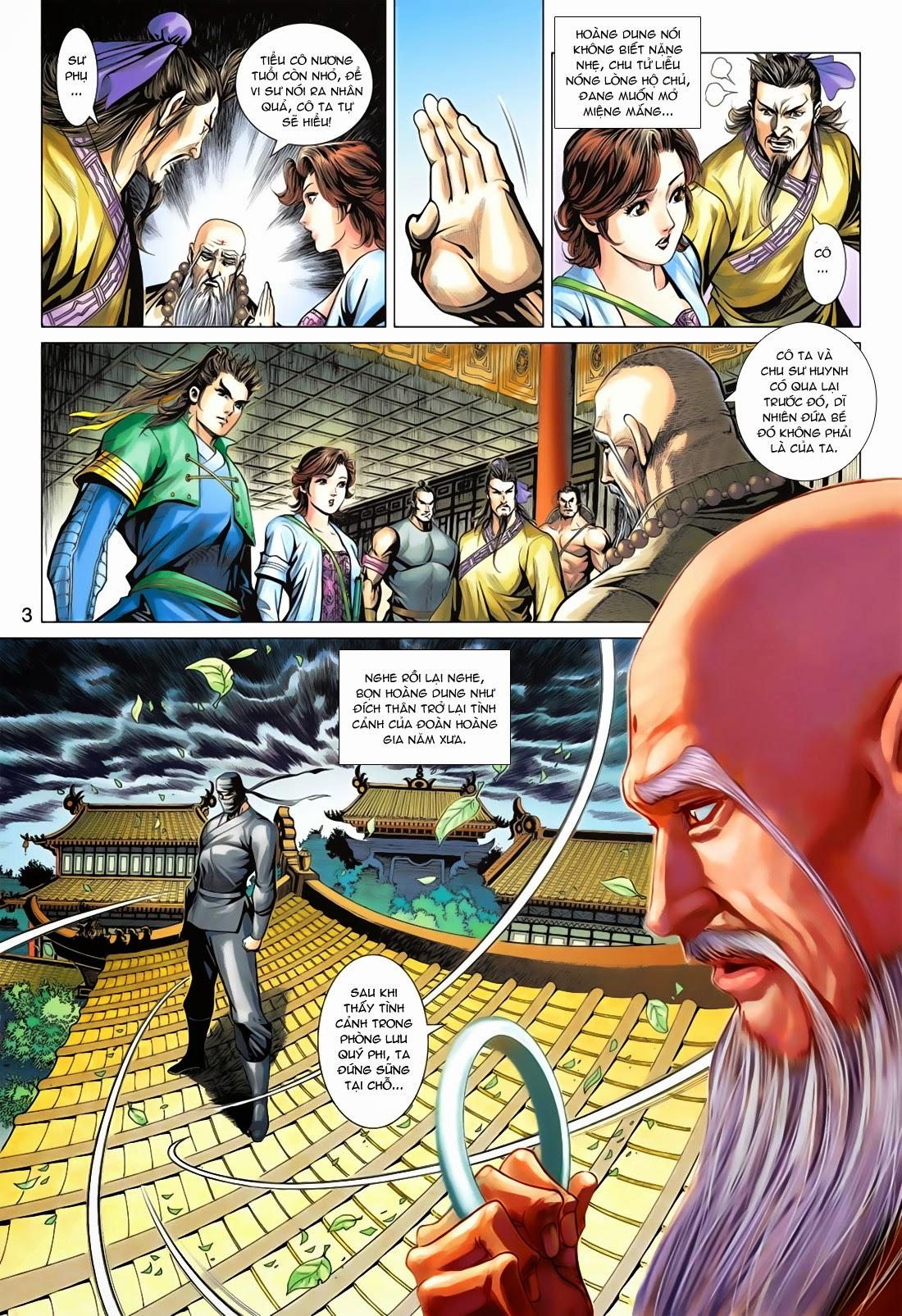 Anh Hùng Xạ Điêu anh hùng xạ đêu chap 78: sát anh trang 3