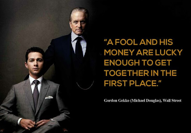 Gordon Gekko Wall Street Greed Is Good Quotes Mike Schiemer Michael Business