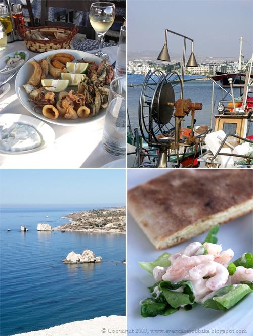 Cypr - rybna uczta meze