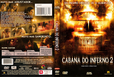 Filme Cabana do Inferno 2 DVD Capa
