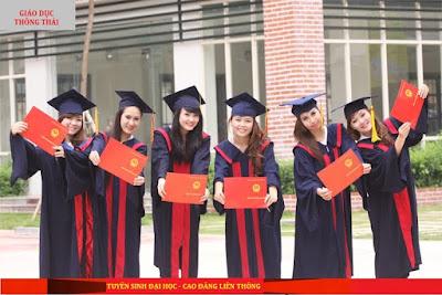 Tuyển sinh lớp liên thông đại học ngành Quản trị văn phòng - Văn thư lưu trữ; ngành Luật và Lớp đại học tại chức, vừa học vừa làm