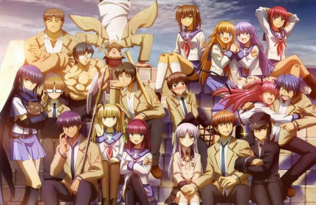 Angel Beats - Anime Romance Sad Ending Terbaik