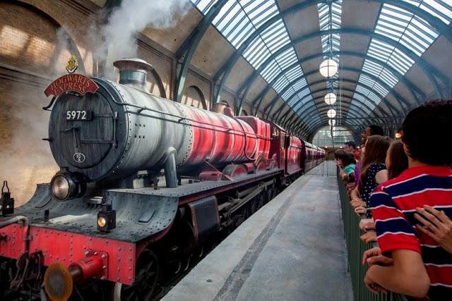 Cómo tomar el expreso Hogwarts en Orlando