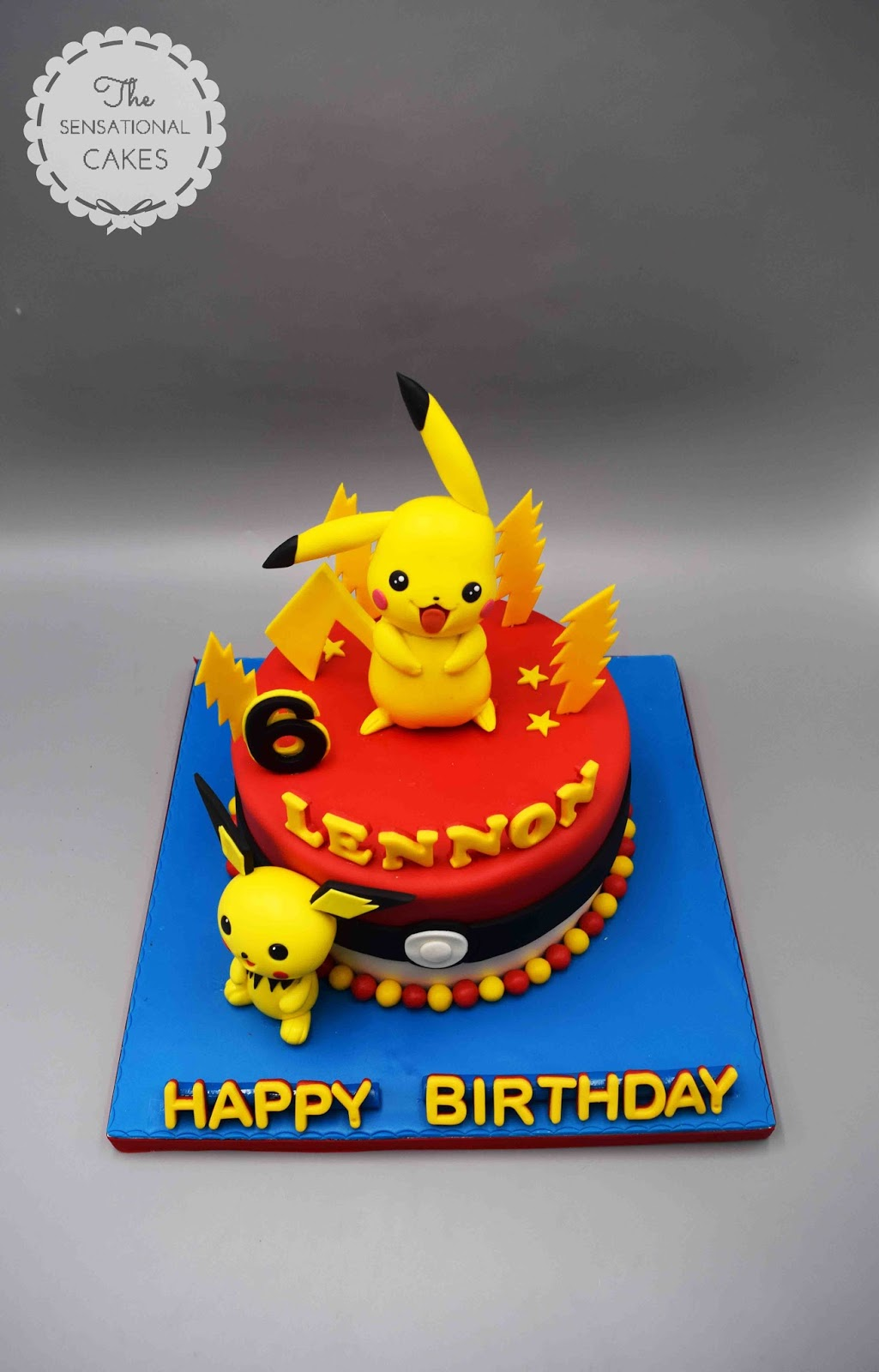 Pokemon Fondant Cake Singapore