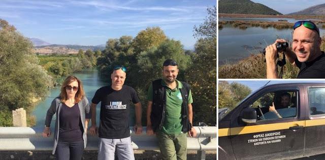 Γιώργος Αμυράς: Χθες στον εισαγγελέα, σήμερα στο πεδίο… για τον Καλαμά