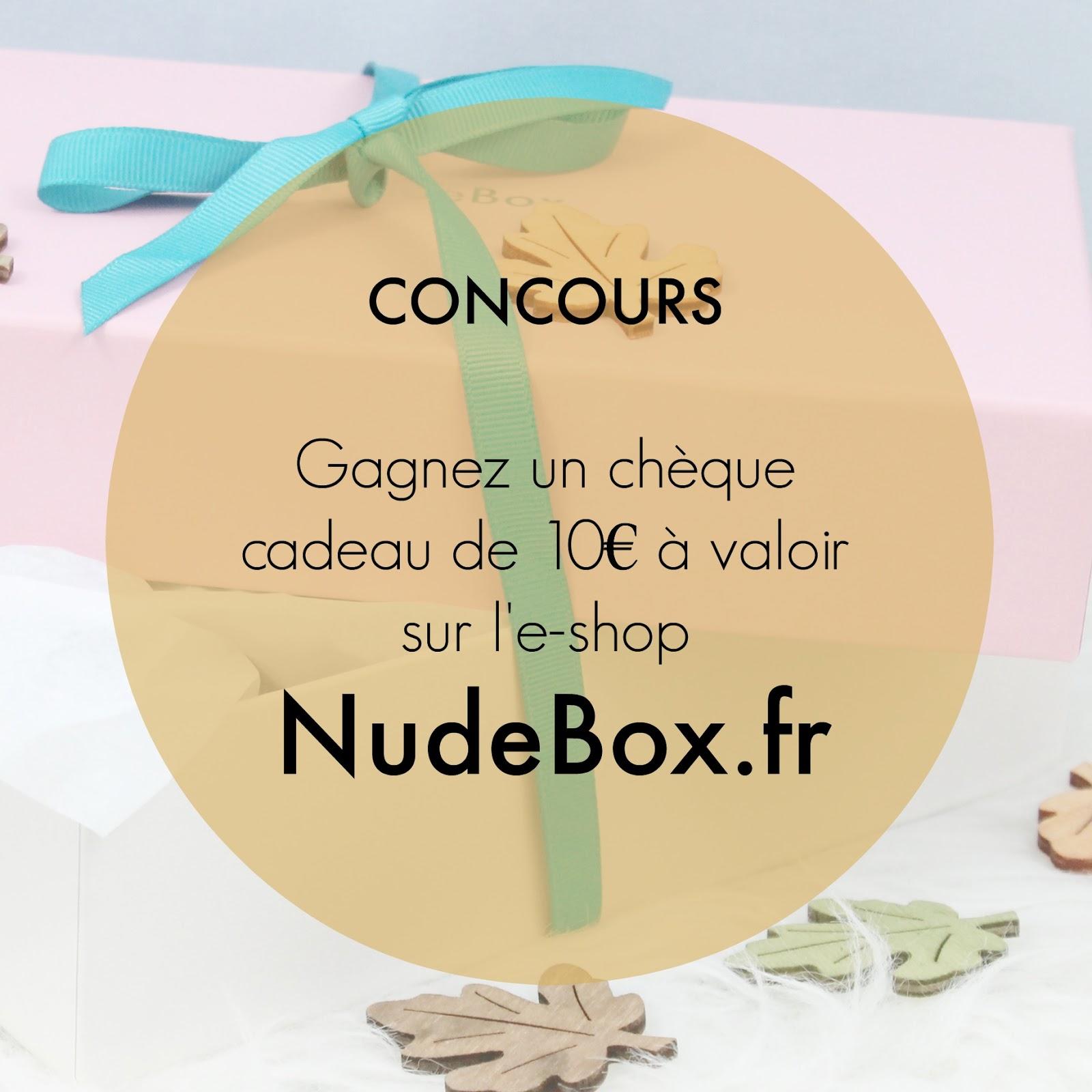 Gagne un chèque cadeau de 10€
