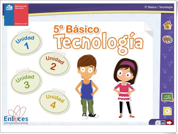 """""""Libro digital de Tecnología de 5º de Primaria"""" (Ciencias Naturales de Primaria)"""