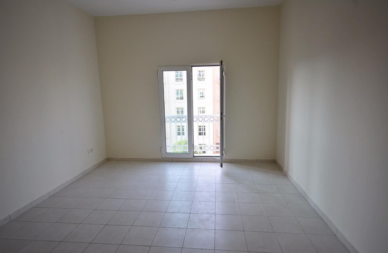 Rental Dubai Bright Studio Apartment With Balcony