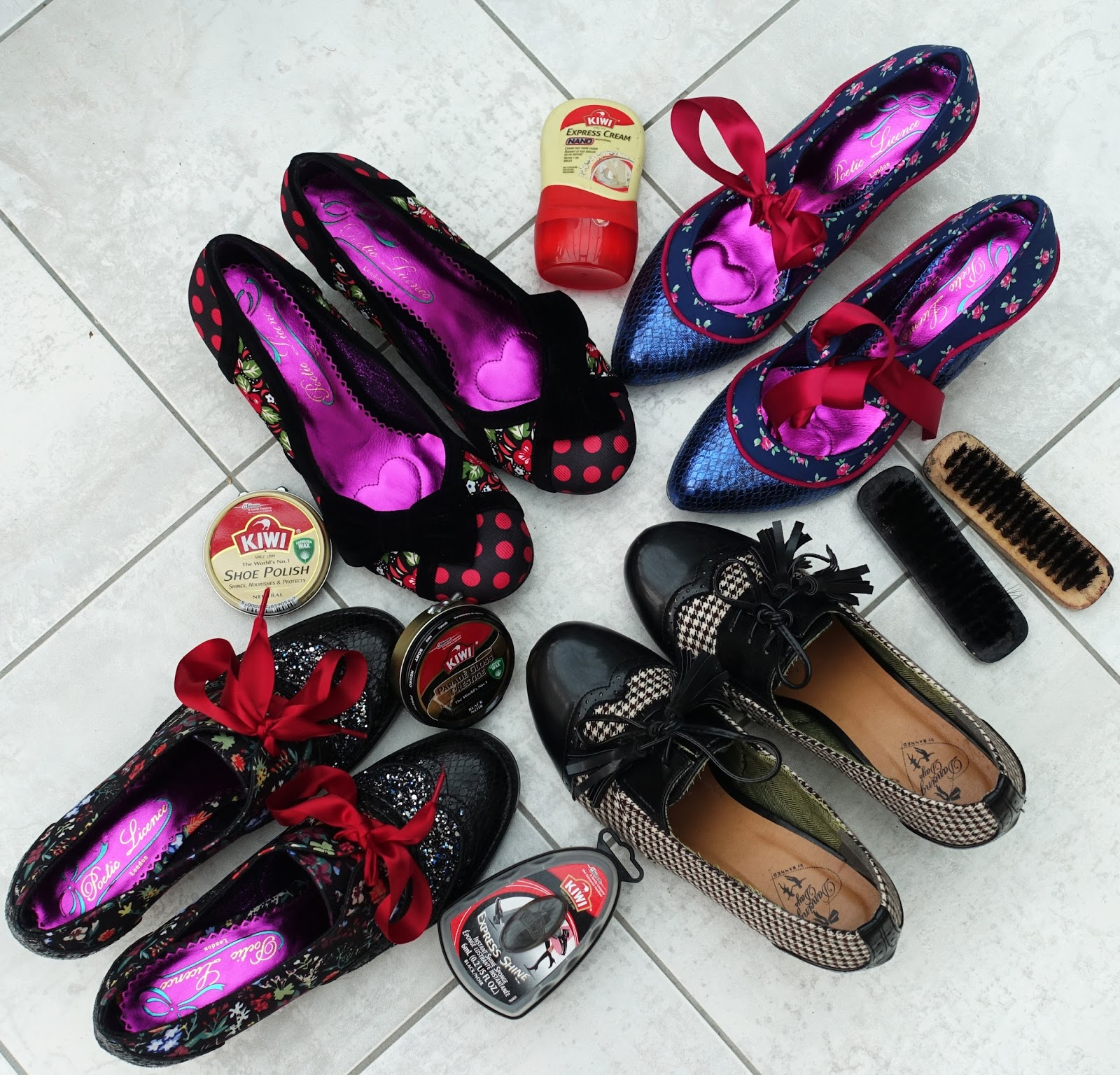 Image showing quirky shoes from the collection of over 50s blogger Is This Mutton?
