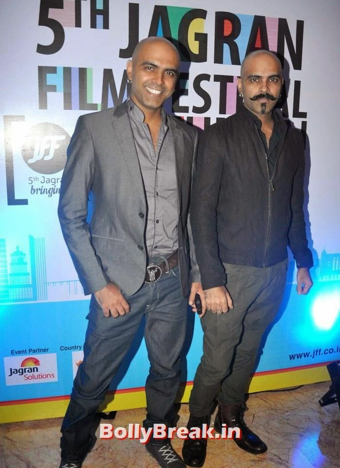 Raghu Ram, Rajiv Laxman, 5th Jagran Film Festival Red Carpet Pics