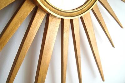 Comprar espejos sol de madera. tienda de espejos vintage