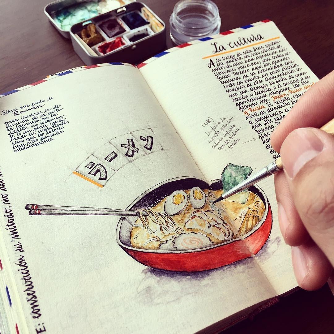 07-Japanese-culture-Jose-Naranja-Urban-Drawings-Travel-Journal-www-designstack-co
