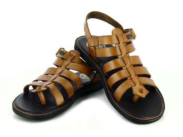Alberto Torresi Maceo tan sandal - Rs 2695
