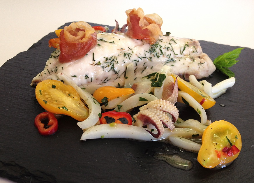 Marthese Seasonal Food: Baked Bream with Yellow Tomato and ...
