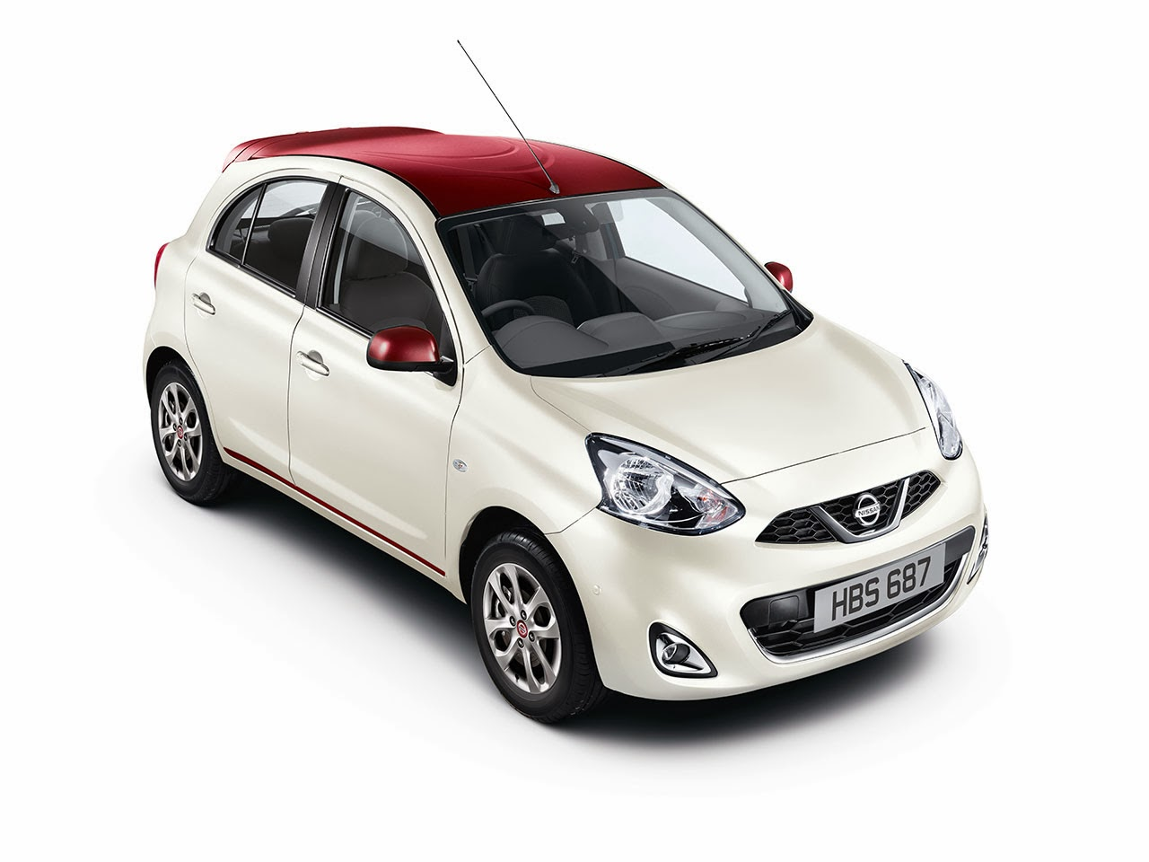 Nissan Limited Edition Micra white