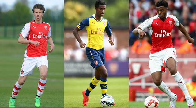 Top Three Arsenal Younsgters