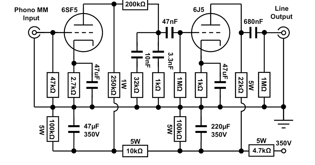 phono preamplifiercircuit diagram world