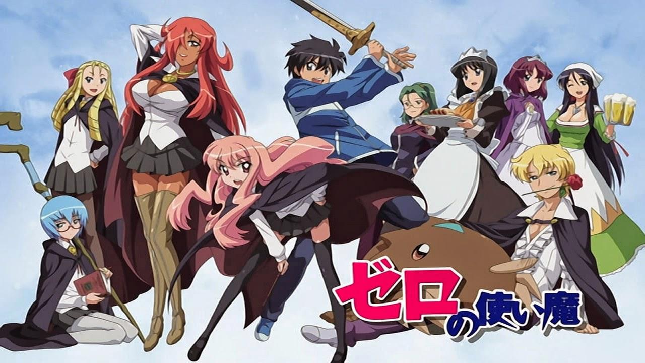 Zero no Tsukaima BD Episode 01-13 BATCH Subtitle Indonesia