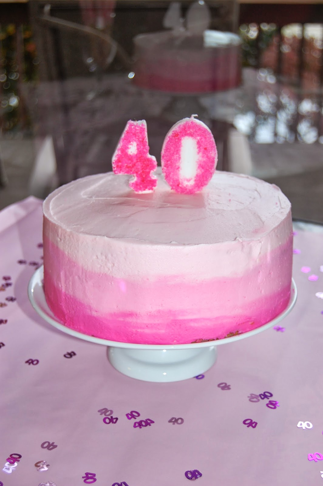 Cook Create Consume How To Make A Pink Ombre Cake