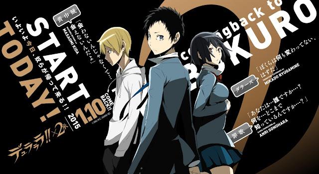 Durarara!!x2 Shou (12/12) + OVAS (90MB) (HDL) (Sub Español) (Mega)