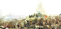 Sakarya Meydan Muharebesini anlatan bir resim